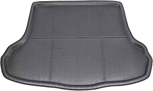 high quality Mallofusa Cargo Liner Rear Cargo Tray Trunk Floor Mat Compatible for KIA Forte discount Cerato k3 2014 2015 2016 2017 2018 sale Black outlet online sale