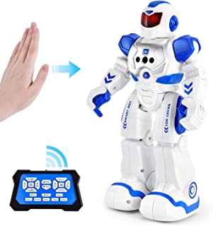 Rainbrace Smart Robot Toys Remote Control Robot,RC Robot for Kids,Robotic for Boy Toys 4 5 7 8 9 12 Years Old Boys Girls Kids Christmas Birthday Gift