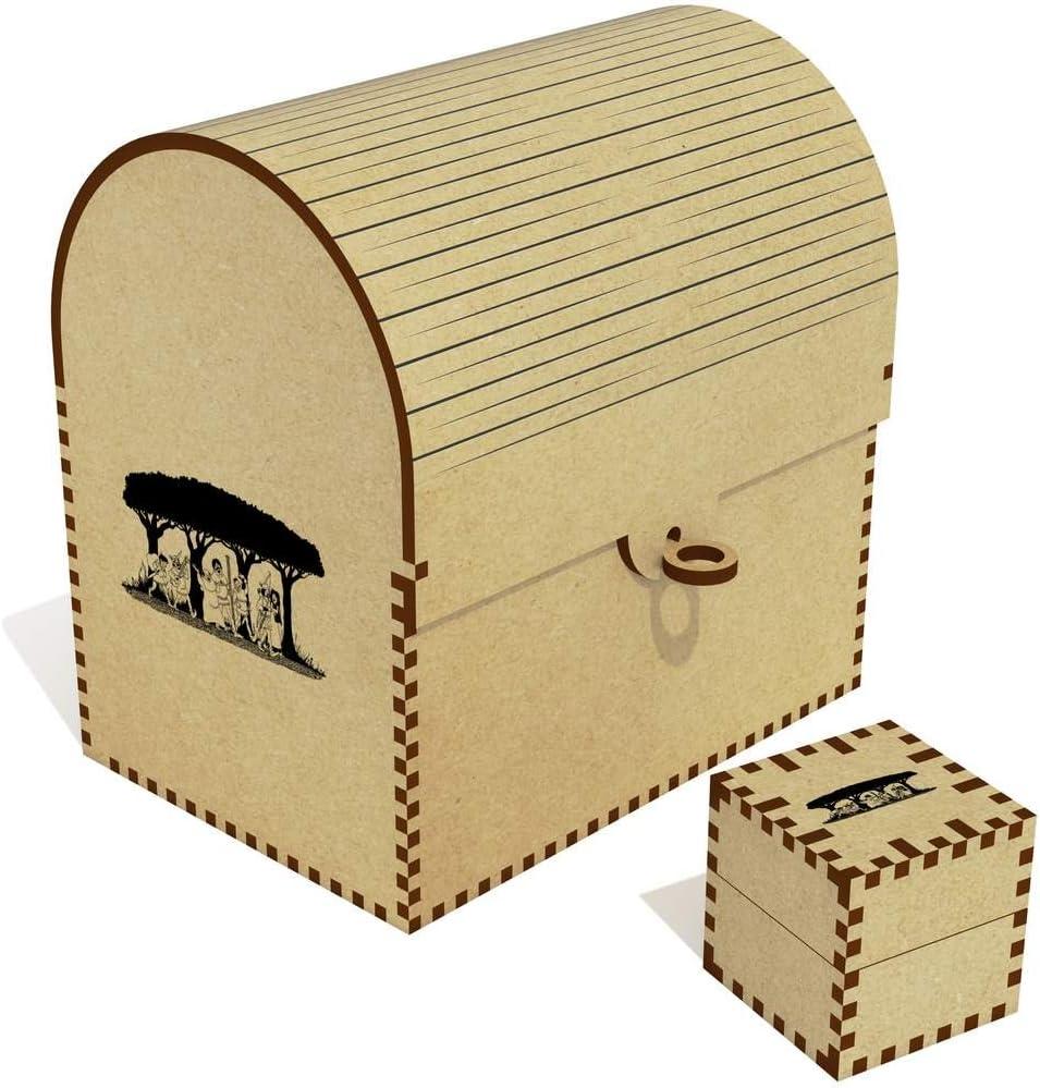 Azeeda NEW 'Merry Men' Treasure Chest TC00018753 Our shop OFFers the best service Jewellery Box