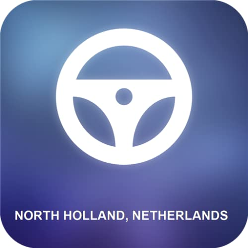 Holanda Septentrional, Países Bajos GPS
