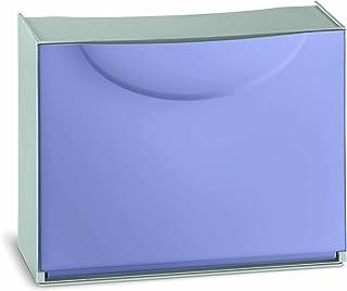 comprar comparacion Terry Harmony Caja Zapatero, plástico, Púrpura, 51x 19x 39cm