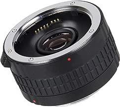 Teleconverter 2.0X (Doubler) Extender for Canon EOS & Rebel Series (EF & EF-S Lenses)