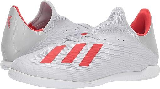 Silver Metallic/Hi-Res Red/Footwear White