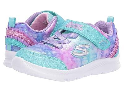 SKECHERS KIDS Sport Comfy Flex 2.0 Tiny Dancer 82171N (Toddler/Little Kid) (Lavender/Multi) Girl