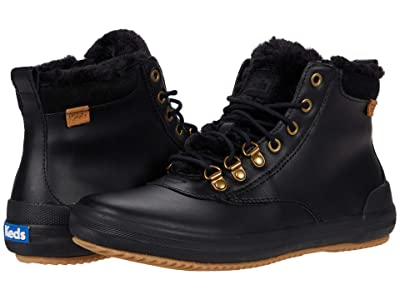 Keds Scout Boot II Leather WX (Black) Women