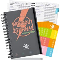 Bridawn Workout Nutrition Journal Fitness Planners