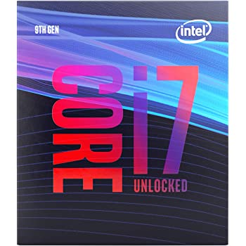 Intel Core i7 9700K Desktop 9th Generation Processor 8 Cores up to 4.9 GHz Turbo Unlocked LGA1151 300 Series 95W (Fan/Heatsink not incuded)