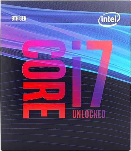 Intel BX80684I79700K Core i7-9700K Desktop Processor 8 Cores up to 4.9 GHz Turbo Unlocked LGA1151 300 Series 95W