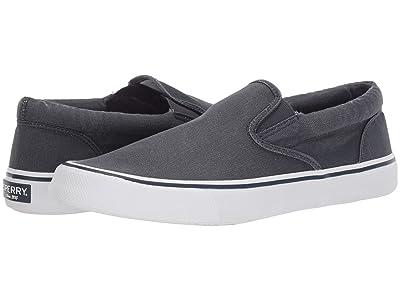 Sperry Striper II Slip-On Sneaker (SW Navy) Men
