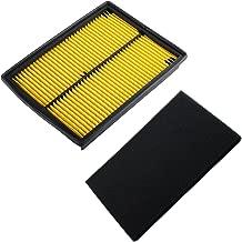 Poweka Air Filter Pre-Filter for Honda GX610 GX620 GX670 18HP 20HP 24HP GX610KS GX620K1 Replace 17210-ZJ1-840 17210-ZJ1-841 17210-ZJ1-842
