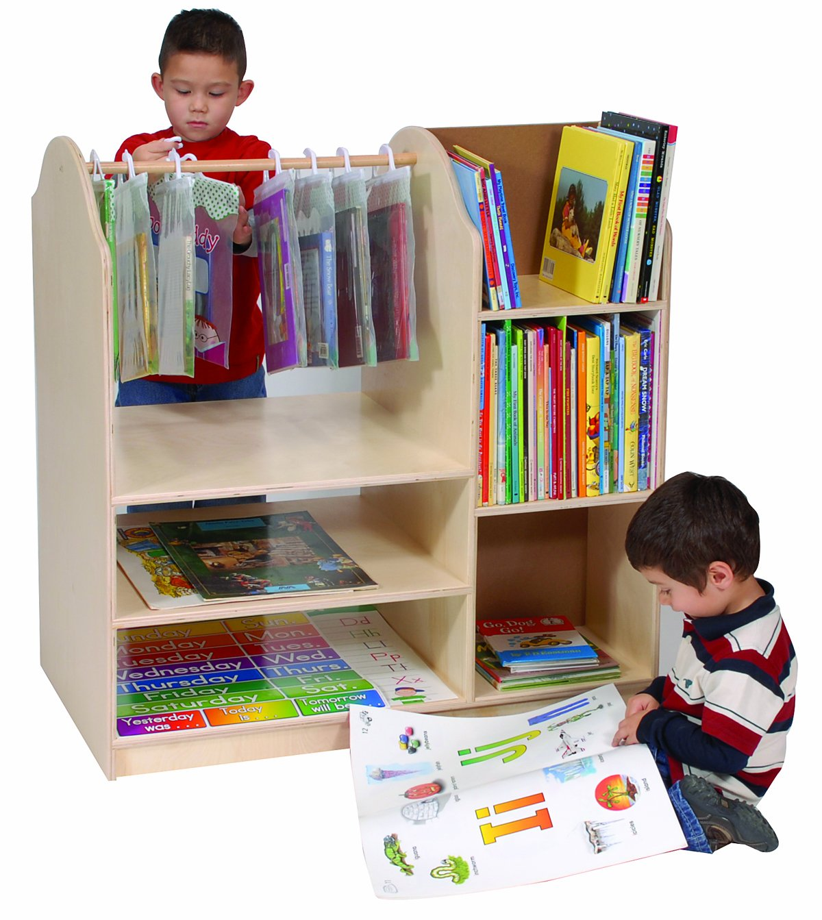 Steffy Wood Products Multi excellence Storage Max 50% OFF Center Book