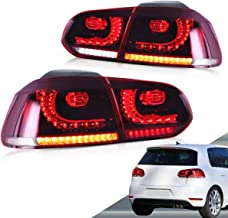 VLAND LED Tail lights for Volkswagen VW Golf 6 MK6 GTI R 2010 2011 2012 2013 2014 with Sequential YAB-GEF-0183AH