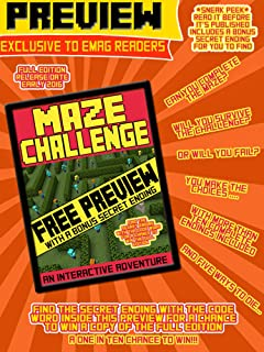 Maze Challenge - sneak peek for our readers