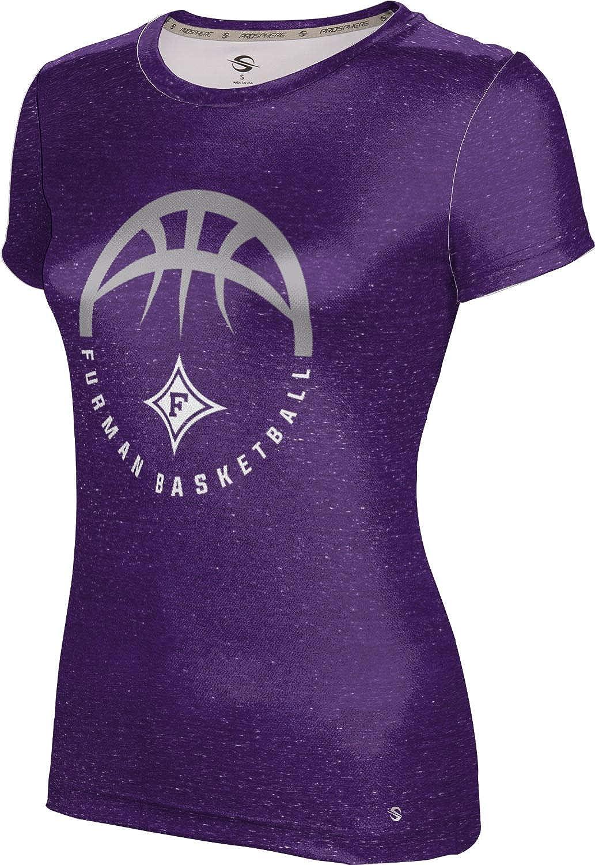 ProSphere Furman University Basketball Girls' Performance T-Shirt (Heather)