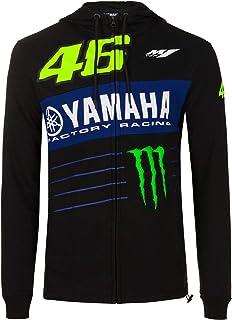 Valentino Rossi VR46 GP Moto M1 Felpa Ufficiale da Gara Yamaha Racing Team 2018