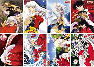 ePanda Inuyasha Poster Wall Decor Art Print,Set of 8 pcs,11.5x16.5 inches