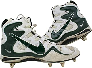 Reggie White Green Bay Packers Game Used Cleats Jan 4th 1998 Vs Bucs WHITE LOA - NFL Game Used Cleats