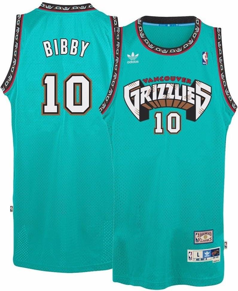 Amazon.com : Vancouver Grizzlies #10 Mike Bibby NBA Soul Swingman ...