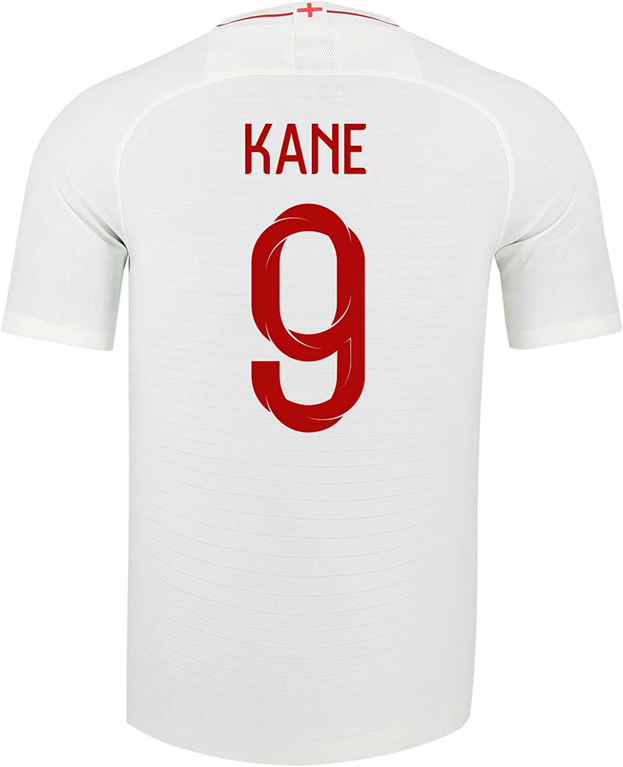 Nike Kane  9 England Home Soccer Stadium Men's Jersey World Cup Russia 2018