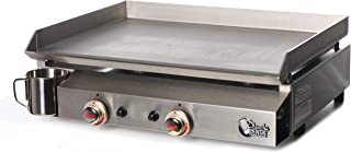 Plancha Tonio - Plancha Bento 6 à 12 personnes - Gaz butane propane - Plaque de cuisson inox – Caisson Inox – Système de s...