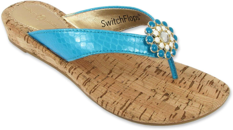 Lindsay Phillips Womens Gwen Wedge Sandal