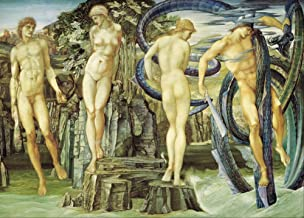 World of Art Edward Burne-Jones Perseus y Andromeda c1876 250 gsm Brillante Arte Tarjeta A3 reproducción Póster