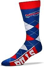 FBF Originals Buffalo Bills V-Curve Crew Socks Mens Large 10-13