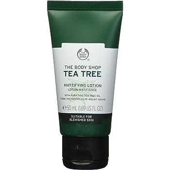 The Body Shop Loción Mattifying para árbol de té, 1.69 onzas líquidas (vegano)