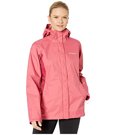 Columbia Arcadia IItm Jacket (Rouge Pink/Red Orchid) Women
