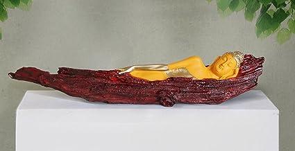TIED RIBBONS Buddha Idol for Home Décor Lord Buddha Statue (53 cm x 10 cm) - Diwali Decoration Item for Home - Diwali Gift...