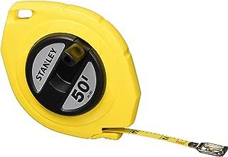 Stanley 34-103 50-Foot-by-3/8-Inch Steel Long Tape Rule