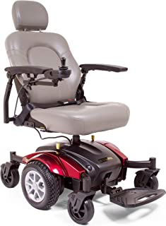 Mid-Wheel Drive Power Wheelchair for Mobility - Long Drive Range with Tight 19.5 inch Turning Radius- Electric Wheelchair Compass Sport GP605 by Golden Technologies