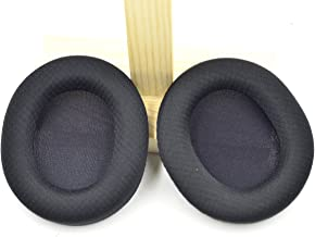 Replacement Black Fabric Ear Pads Cushion Earmuffs for SteelSeries Arctis 3 5 7 SteelSeries Arctis pro Lossless Wireless Gaming Headset Headphone