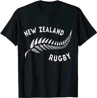 New Zealand Rugby T Shirt - Maori Inspired Design