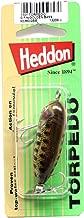 Heddon Tiny Torpedo Lure (G-Finish/Gold Bass, 1 7/8-Inch)