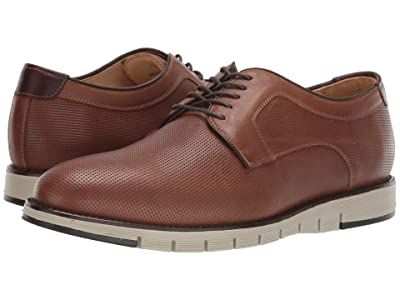 J&M EST. 1850 Martell Plain Toe (Tobacco) Men
