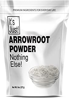 It's Just - Arrowroot Powder, Natural Thickener, Gluten-Free, Dairy-Free, Non-GMO, Cornstarch Substitute