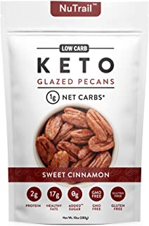 NuTrail™ - Keto Glazed Nuts Snack - Delicious Healthy Nut Mix - Only 1 Net Carb Per Serving - Keto Snacks & Low Carb Food ...