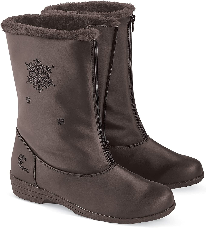 Totes Snowflake Waterproof Boots