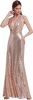 Ever-Pretty Women Sparkling Gradual Champagne Gold Sequin...