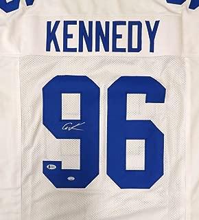 cortez kennedy autographed jersey