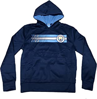 Manchester City FC Youth Navy Hoodie Sweater Official Product