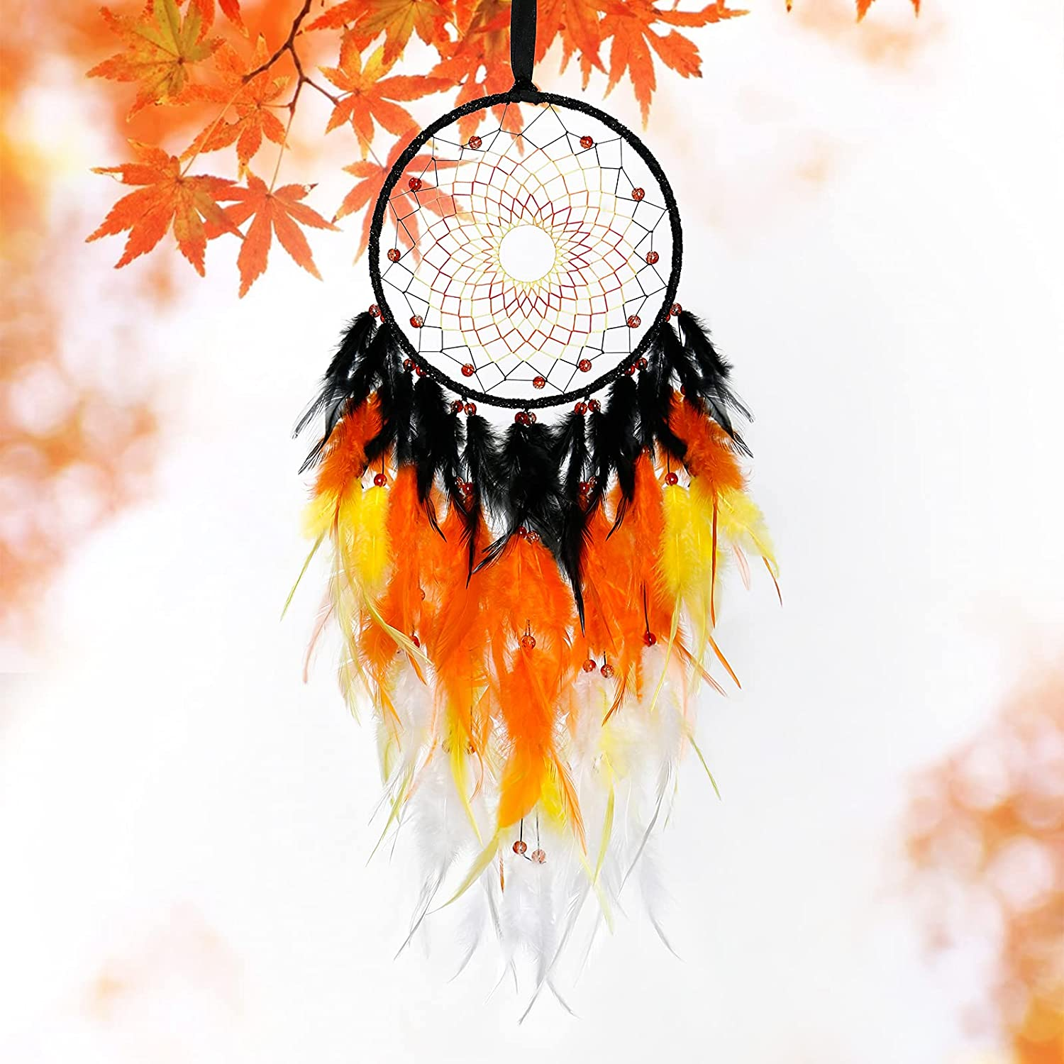 wholesale KHOYIME Dream Catcher Handmade Decor Feather Colorful Wall Ranking TOP2