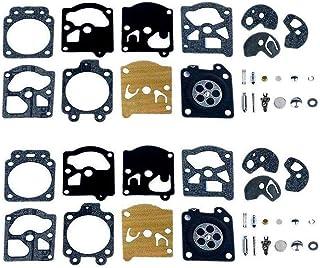 Poweka Kit de Reparación del Carburador Junta Membrana para Walbro K10-WAT WA & WT Series STI-HL Husq-Varna Poulan McCulloch Echo (2 Juegos)