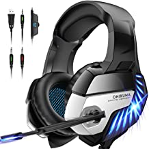 ONIKUMA Gaming Headset for PS5 PS4 Controller Xbox One...