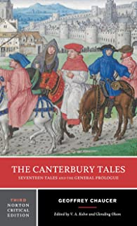 The Canterbury Tales: Seventeen Tales and the General Prologue (Norton Critical Editions)