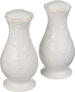 Lenox French Perle White Tall Salt and Pepper Set - 830293