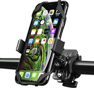 Bike Mount, Insten Bicycle Motorcycle MTB Bike Rack Handlebar Mount Phone Holder Cradle W/Secure Grip for iPhone 11/11 Pro...