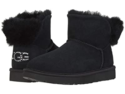 UGG Classic Bling Mini (Black) Women
