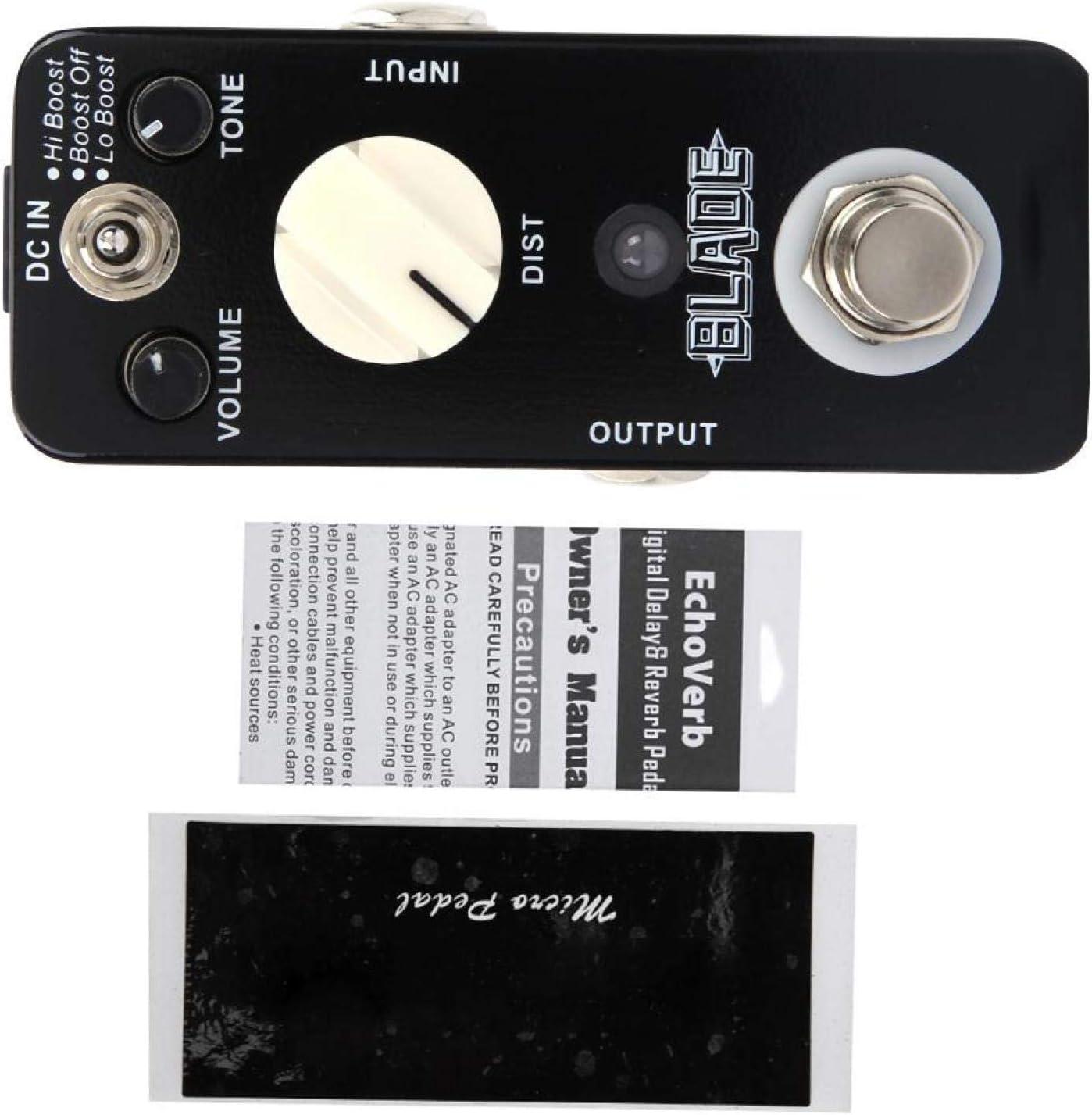 Pedales Donner, Conveniente Pedal De Efectos De Guitarra, Miniefectos Portátiles, Multiefectos Para Transmisión En Vivo Para Guitarristas